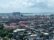 Ville de Phnom Penh Photographie stock libre de droits