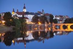 Ville de Pisek. Images libres de droits