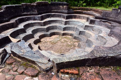 Ville de Polonnaruwa Images stock