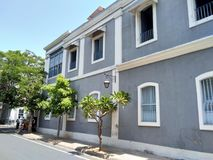 Ville de Pondicherry Photo libre de droits