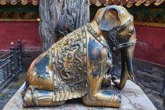 ville de porcelaine de Pékin interdite Photos libres de droits
