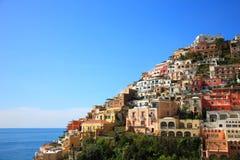 Ville de Positano, Amalfi Images stock