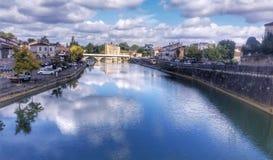 Ville de préservatif, France Photos libres de droits
