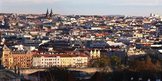 Ville de Prague images stock