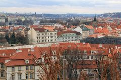 Ville de Prague Images stock