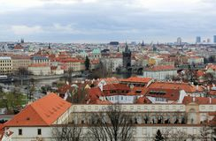 Ville de Prague Photo stock
