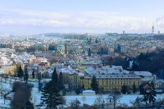 Ville de Prague en automne. photo libre de droits
