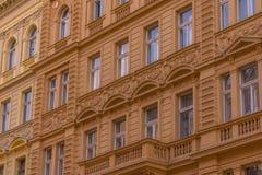 Ville de Prague tôt le matin photographie stock