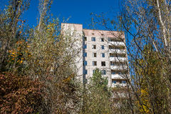 Ville de Pripyat Photos stock