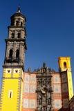 Ville de Puebla au Mexique image stock