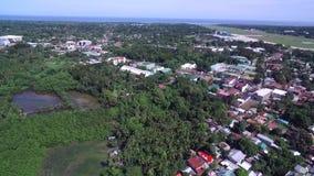 Ville de Puerto Princesa, Palawan, Philippines banque de vidéos