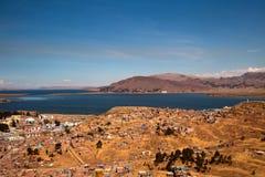 Ville de Puno Photographie stock libre de droits