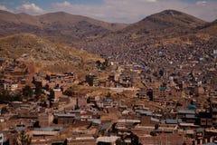Ville de Puno Images stock