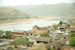 Ville de Qikou Images stock