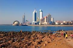 Ville de Qingdao images libres de droits