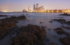 Ville de Qingdao photo stock