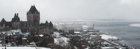 Ville de Québec fotografering för bildbyråer