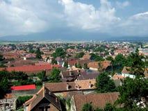 Ville de Rasnov photographie stock libre de droits