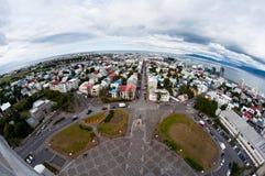 Ville de Reykjavik, Islande Image libre de droits