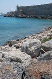 Ville de Rhodes Photo libre de droits