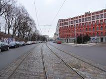 Ville de Riga, Lettonie Photo libre de droits