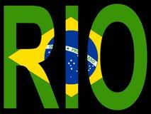Ville de Rio de Janerio Photos stock