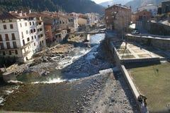 Ville de rivière images libres de droits