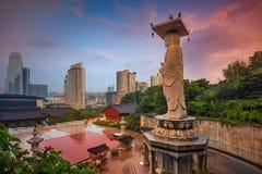 Ville de Séoul Photo libre de droits