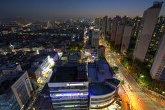 Ville de Séoul, Corée photos stock