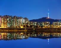 Ville de Séoul en Corée du Sud photos stock
