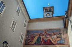 Ville de Salzbourg, Autriche photographie stock libre de droits