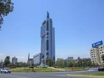 Ville de Santiago, piment Images stock