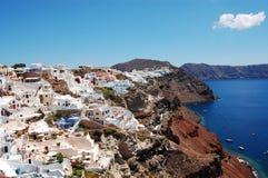 ville de santorini d'oia Photos libres de droits
