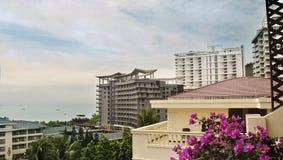 Ville de Sanya, île de Hainan, Chine Image stock