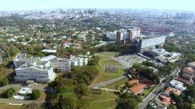 Ville de Sao Paulo, état de sao Paulo Brazil Palais de Bandeirantes dans le secteur de Morumbi clips vidéos