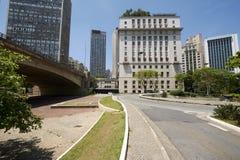 Ville de Sao Paulo au Brésil Photo libre de droits