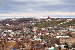 Ville de Saratov Russie photographie stock