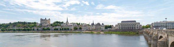 Ville de Saumur Royalty Free Stock Photography