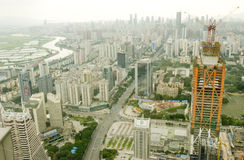 Ville de Shenzhen Photos stock