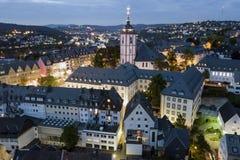 Ville de Siegen, Allemagne Photographie stock