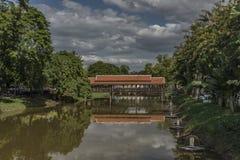 Ville de Siem Reap dans le jour ensoleillé au Cambodge Photographie stock