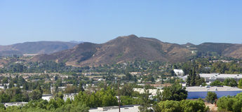 Ville de Simi Valley, CA Image stock
