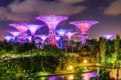 Ville de Singapour, Singapour Photos stock