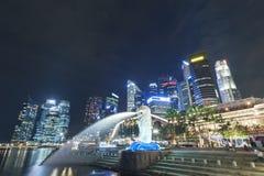 Ville de Singapour Photos libres de droits
