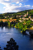 Ville de Sisteron en Provence France Photos libres de droits