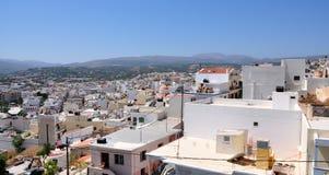 Ville de Sitia, Grèce Image stock