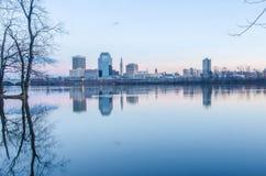 Ville de Springfield le Massachusetts photographie stock