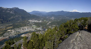 Ville de Squamish Photographie stock