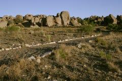 Ville de stationnement d'état de roches Photo libre de droits