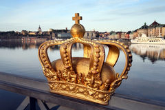 Ville de Stockholm Image libre de droits